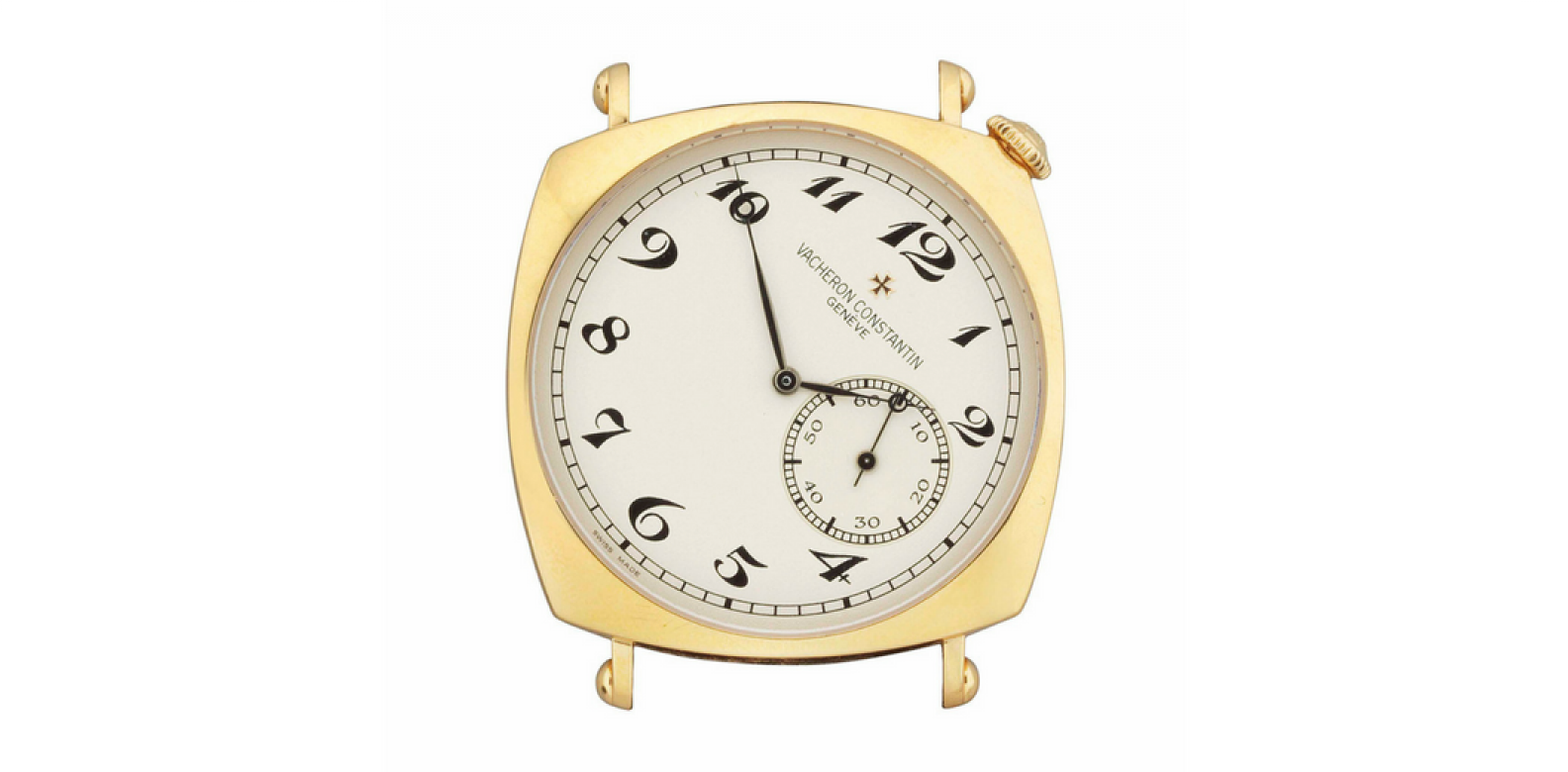 Vacheron Constantin 18ct. gold driver's wristwatch (Photo: Courtesy of Christie's London)
