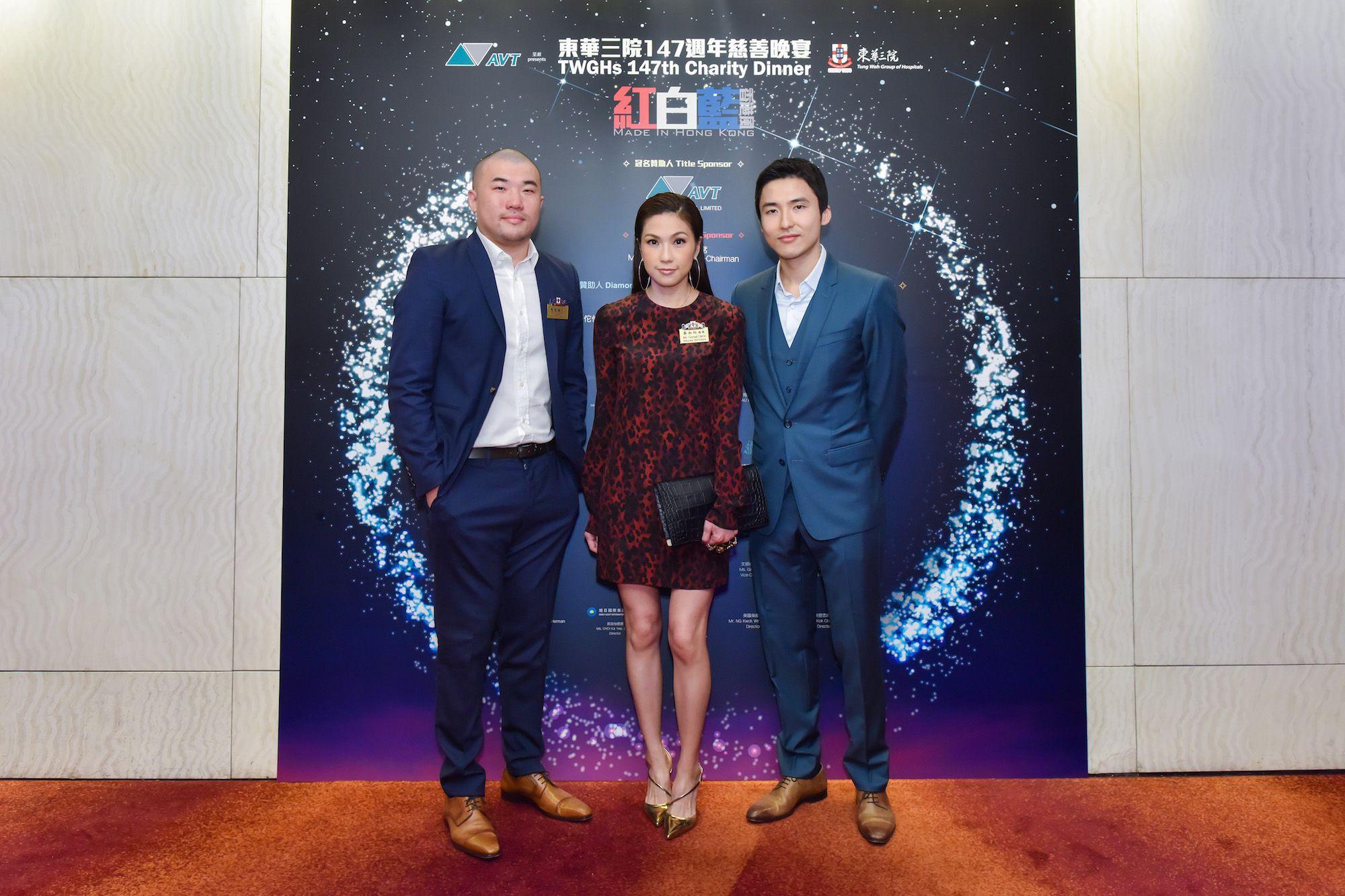 Jeremy Chan, Crystal Choi, Karson Choi