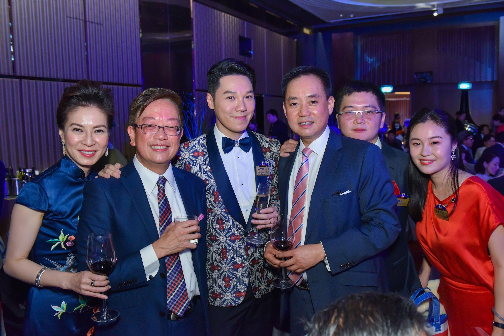 Viola Man-Chan, Abraham Chan, Vinci Wong, Richard Lo, Vincent Chen, Selena Chen