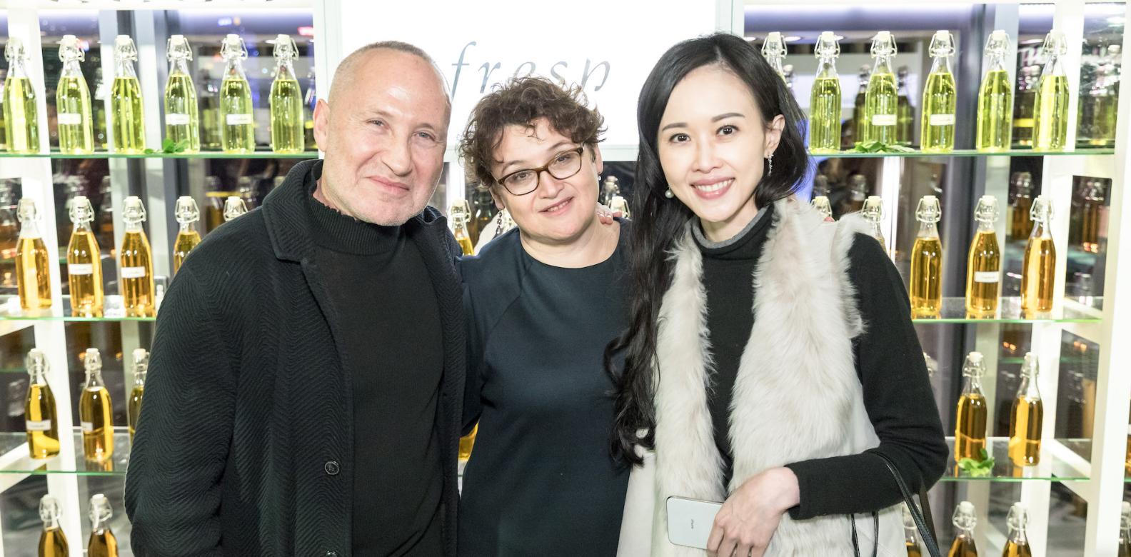 Lev Glazman, Alina Roytberg, Jacqueline Chow