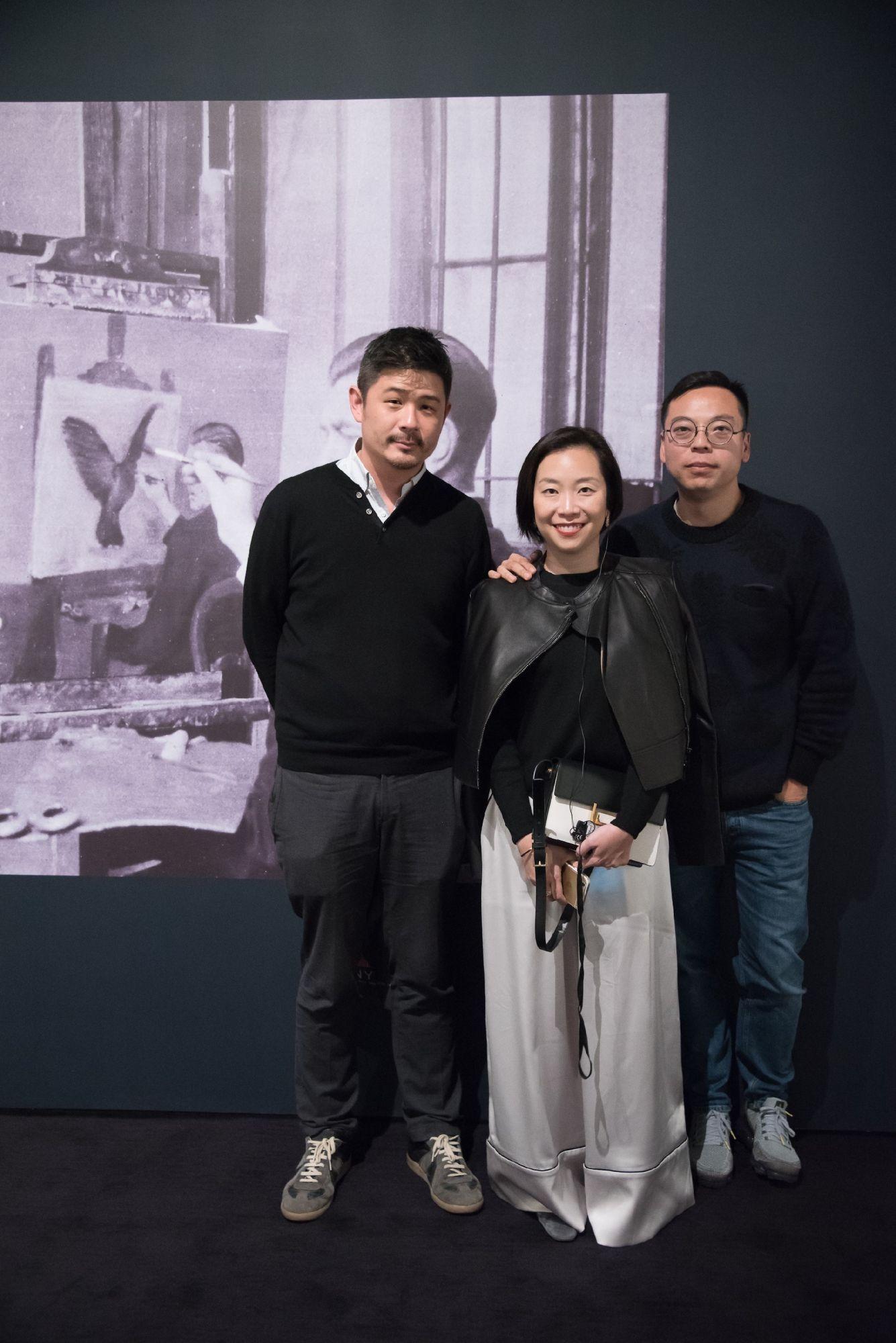 Aric Chen, Yenn Wong, Alan Lo