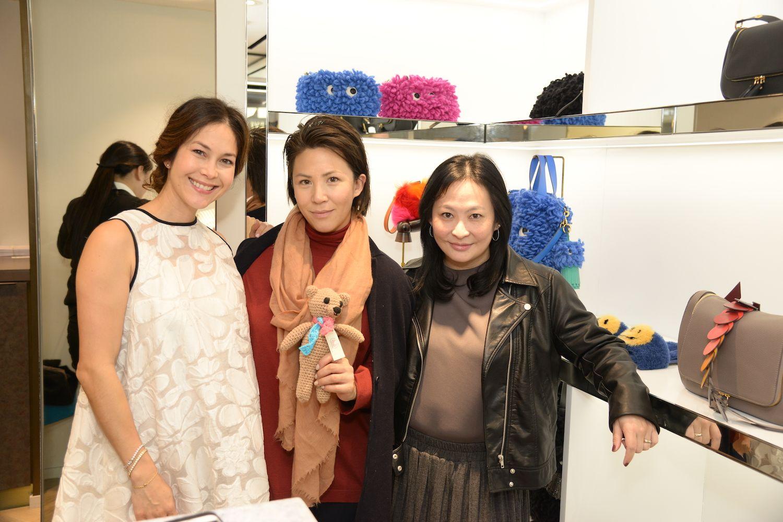 Paula Taylor-Buttery, Victoria Tang-Owen, Jo Soo-Tang