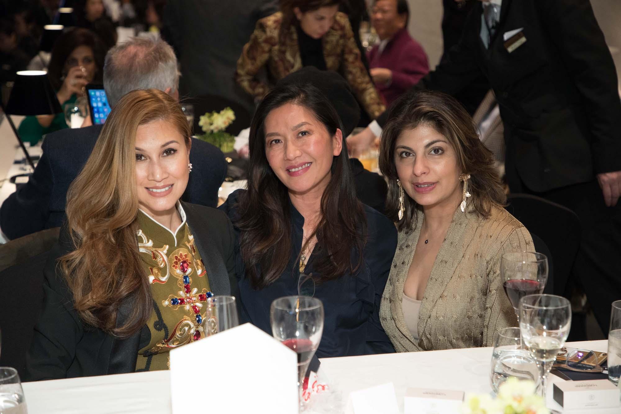 Anna Treier, Judy Den Hartog Hsu, Reyna Harilela