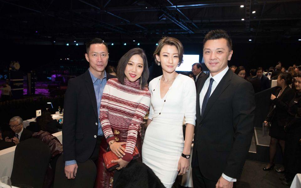 Arthur Lam, Faye Tsui, Esther Sham, Sunny Tan