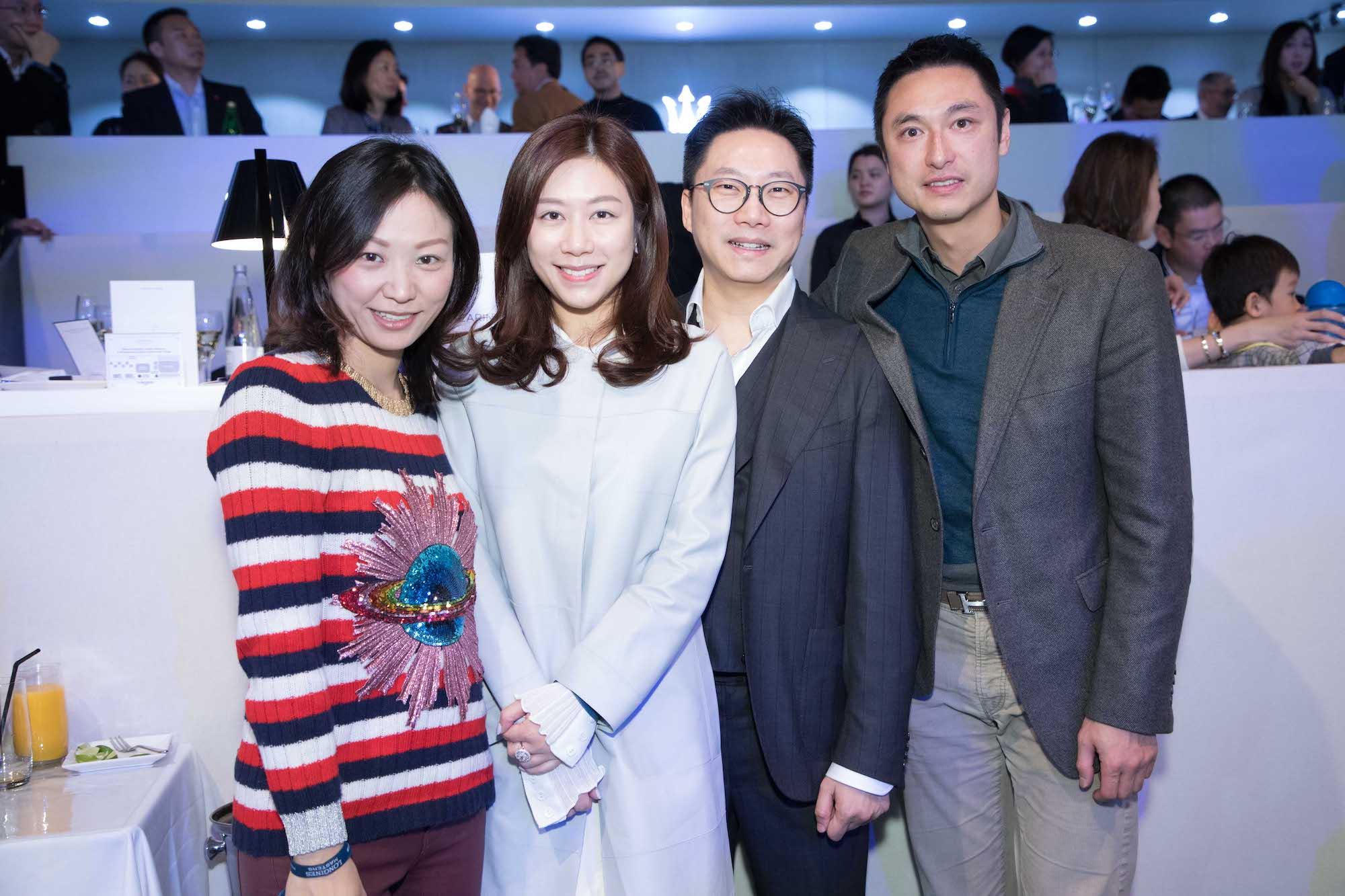 Michelle Cheng-Chan, Letty Ngan, Roger Ngan, Alan Chan