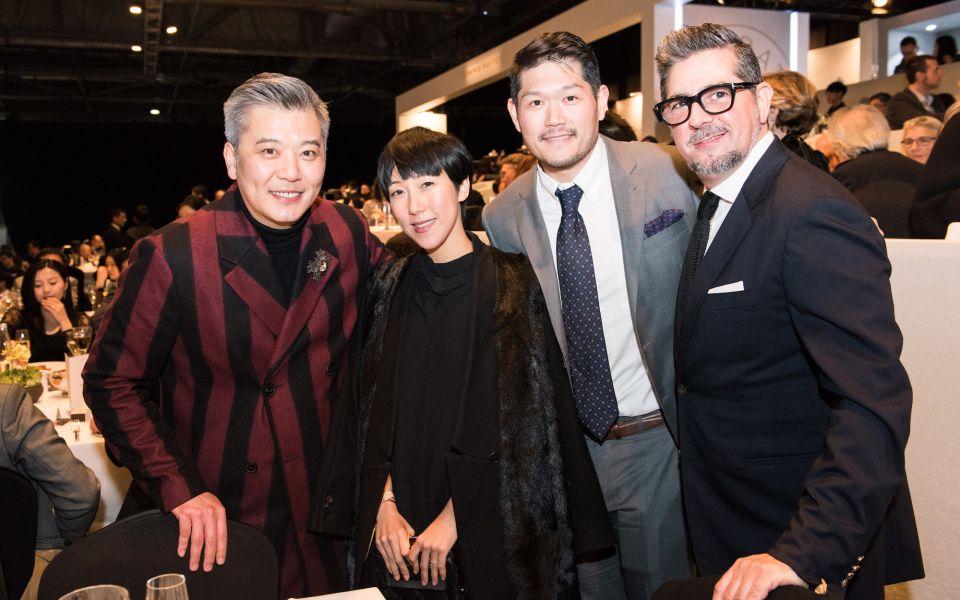 Peter Cheung, Denise Ho, David Lin, Francisco Anton-Serrano