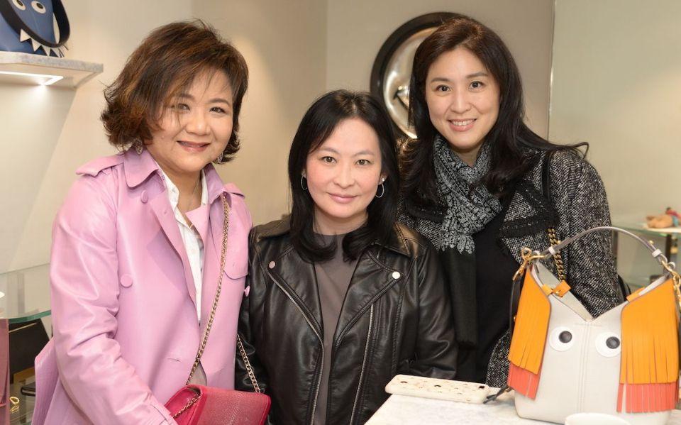 Sue-Lynn Woo-Hwa, Jo Soo-Tang, Leigh Tung-Chou