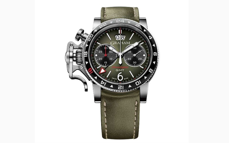 Graham Chronofighter Vintage GMT