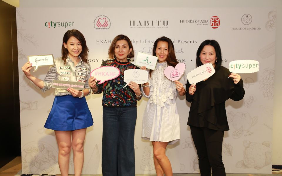Juliana Lam, Shirley Hiranand, Jacinta Yu-Kuok, Jo Soo-Tang