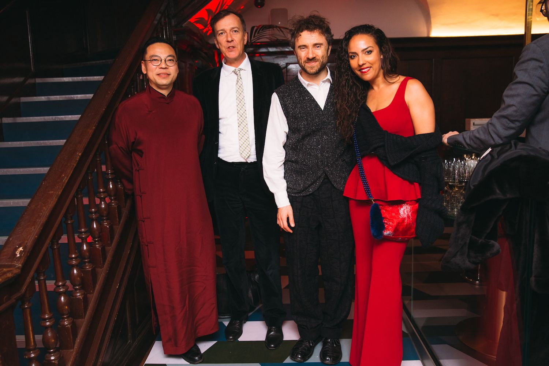 Alan Lo, Paul Thompson, Thomas Heatherwick, Princess Alia Al-Senussi