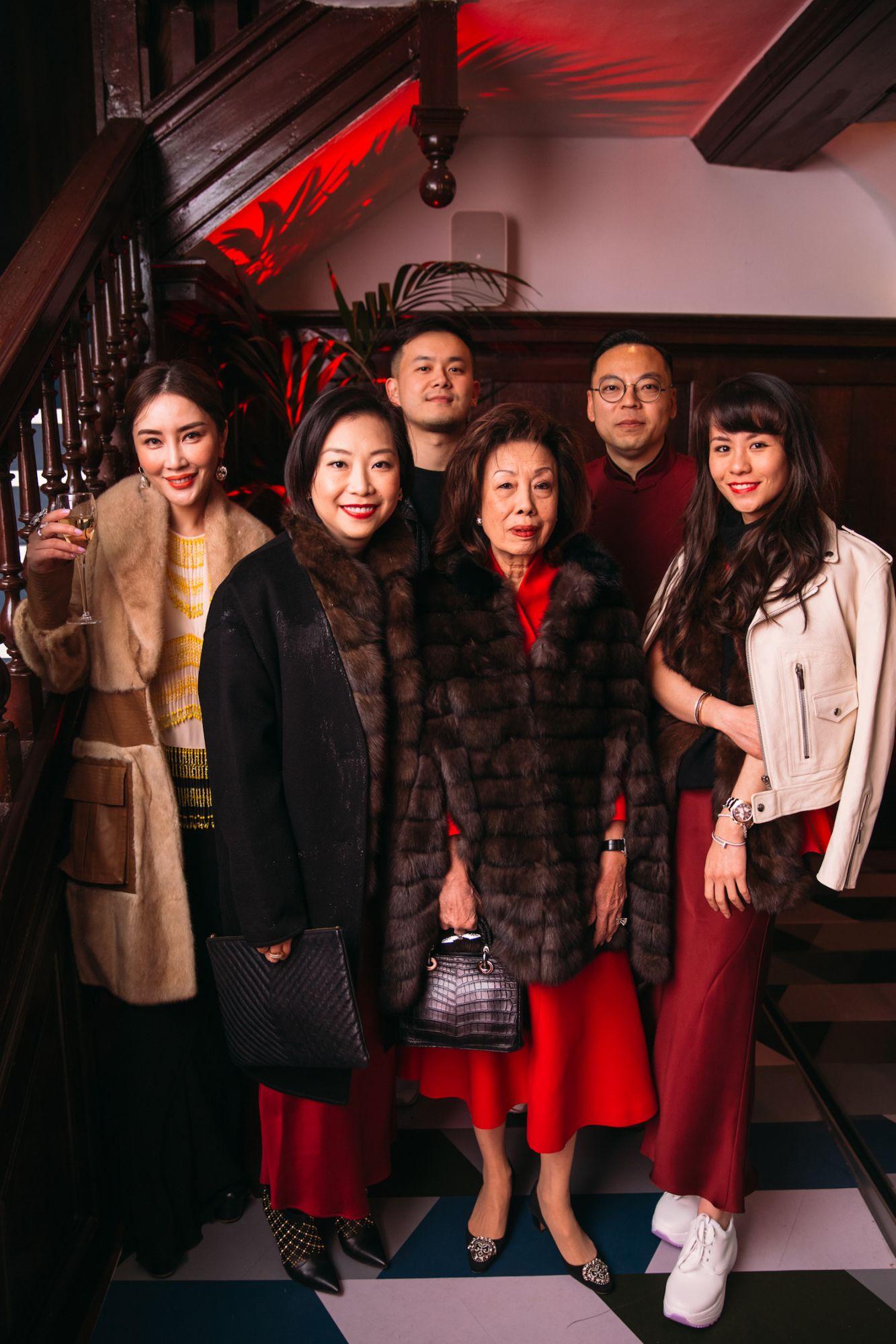 Kylie Ying, Yenn Wong, David Chau, Mavis Khoo-Oei, Alan Lo, Lauren Khoo
