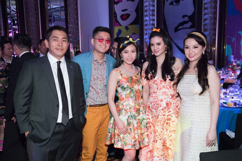 Kent Ho, Will Lam, Wendy Law, Emily Lam-Ho, Tammy Wu