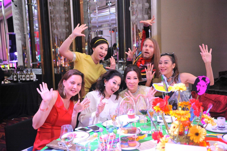 Standing - Lillian Lee-Fong, Johan Stjernholm. Seated - Joanna Hotung, Yuda Chan, Janice Chan-Choy, Flora Zeta Cheong-Leen