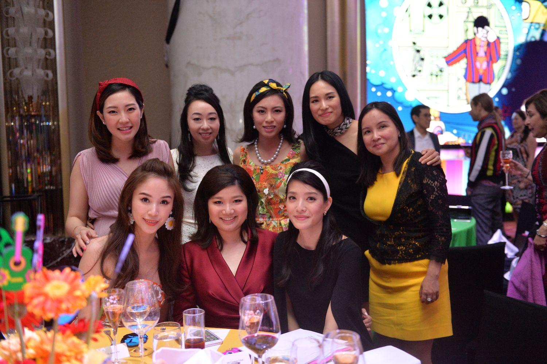 Standing - Snowy Chu, Sarah Wong, Wendy Law Lam, Angelina Yao, Wendy Chan. Seated - Anina Ho, Carmen Choi, Carolyn Lee