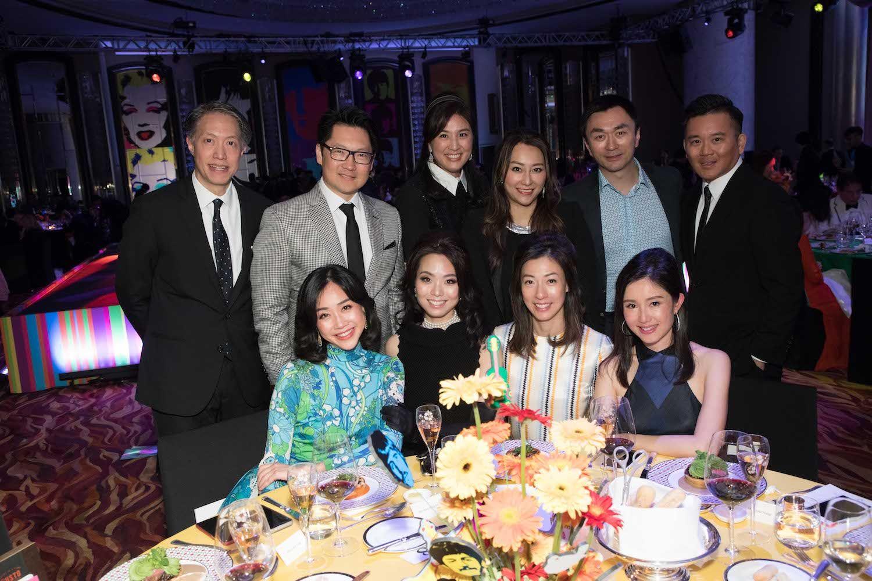 Standing - Stanley Chou, Julian Liu, Leigh Tung-Chou, Winnie Chiu, Patrick Wong, Derek Fung. Seated - Angie Ting, Anne Wang-Liu, Sherry Wong, Liana Yeung