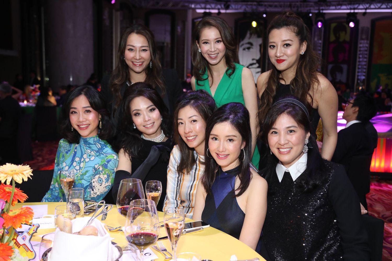 Standing - Winnie Chiu, Bonnie Kwong-Li, Wendy Hui. Seated - Angie Ting, Anne Wang-Liu, Sherry Wong, Liana Yeung, Leigh Tung-Chou