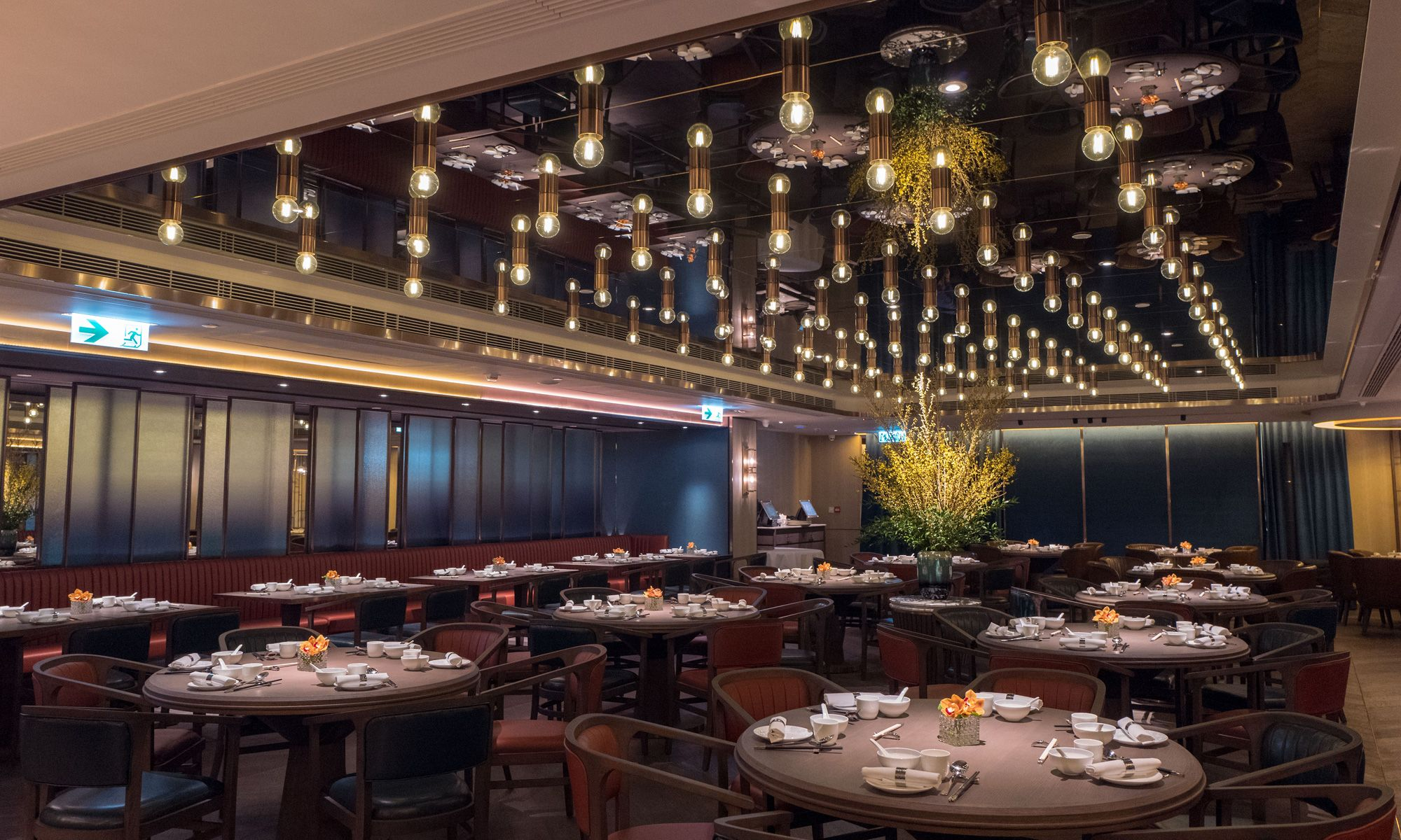 The interior of 10 shanghai is spacious with designs inspired by 1920s shanghainese ballrooms photo