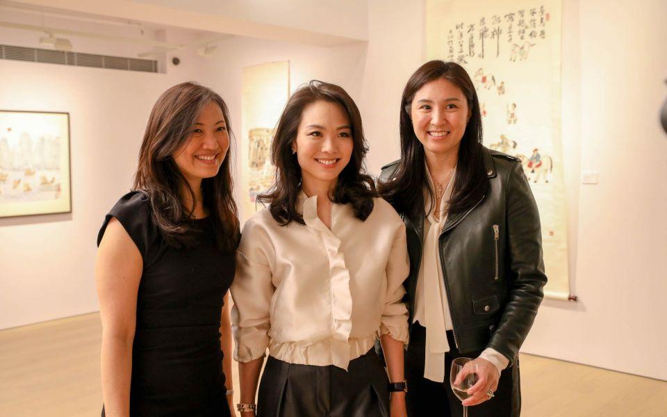 Daphne King-Yao, Anne Wang-Liu, Leigh Tung-Chou