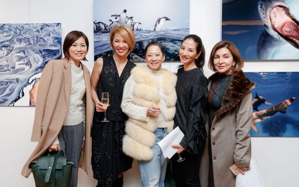 Tansy Lau-Tom, Yolanda Choy-Tang, Yuda Chan, Audry Ai-Morrow, Shirley Hiranand