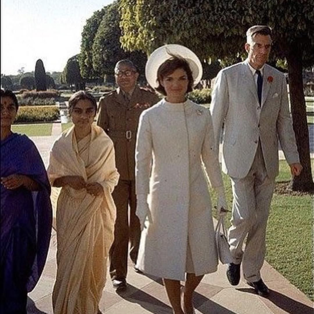 Jacqueline Kennedy visits India