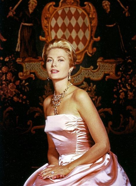 Princess Grace of Monaco poses for an official photo