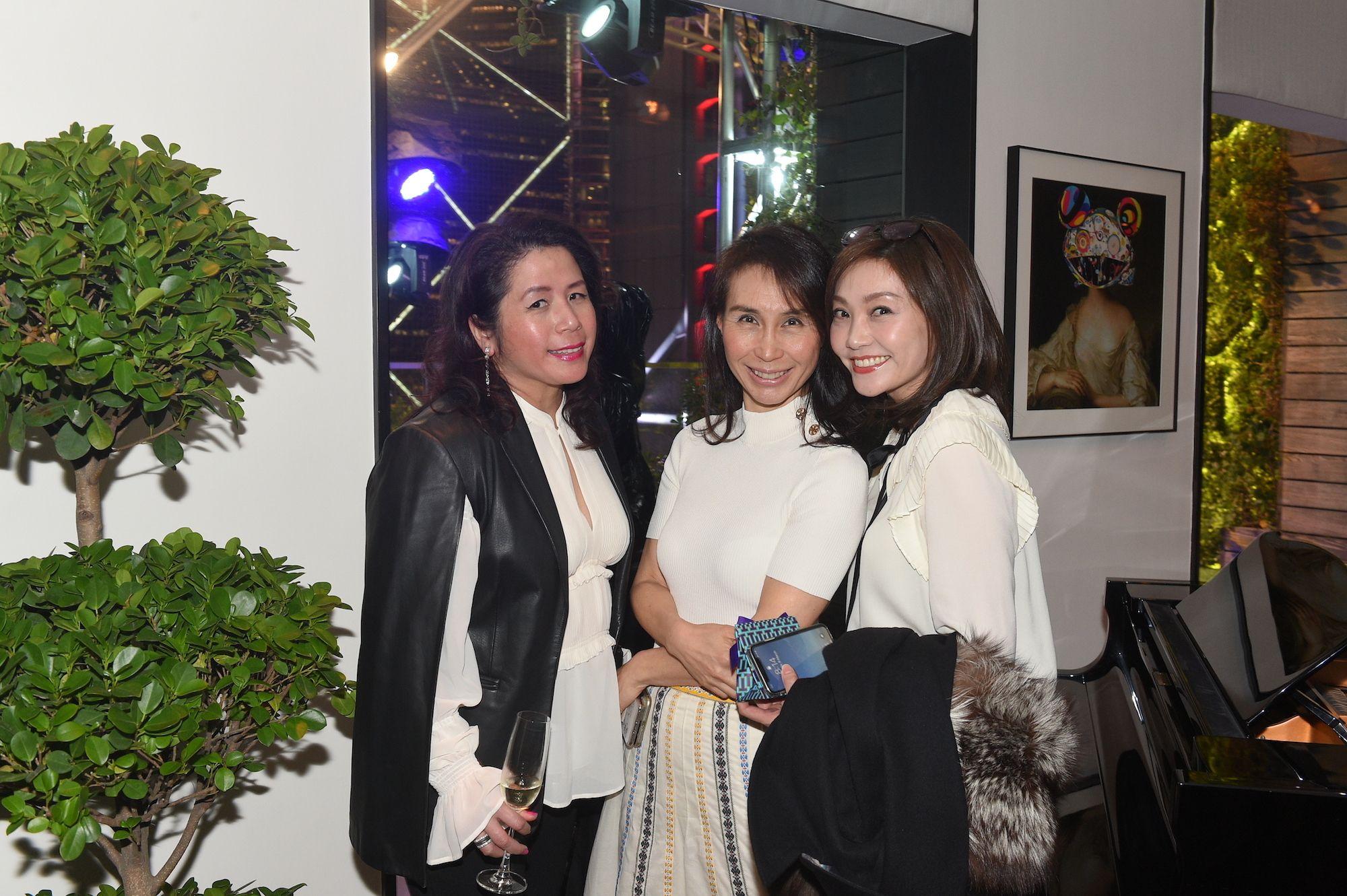 Carol Yau, Daisy Ho, Laetitia Yu