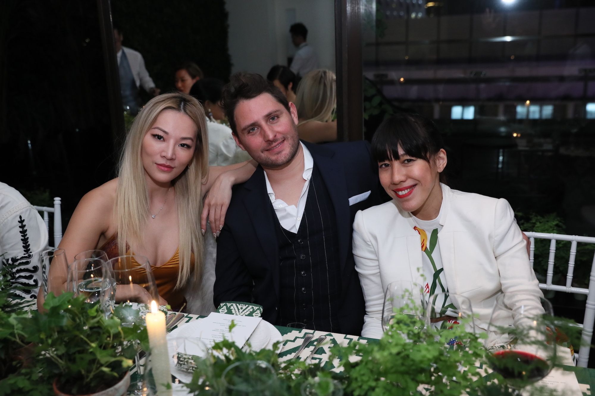 Tina Leung, Thierry Mandonnaud, Ingrid Chen-Mandonnaud