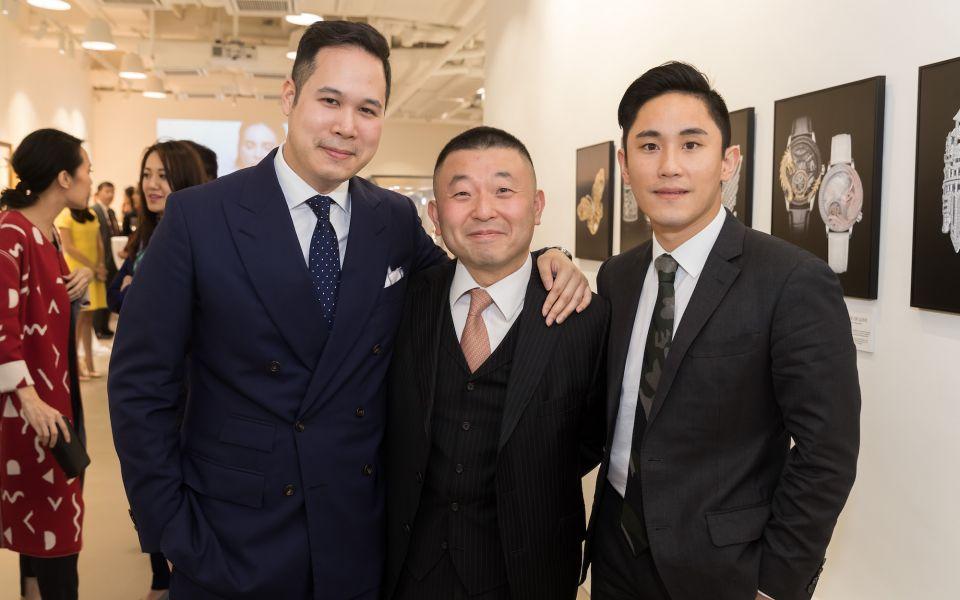 Brandon Chau, Albert Wong, Edwin Chuang