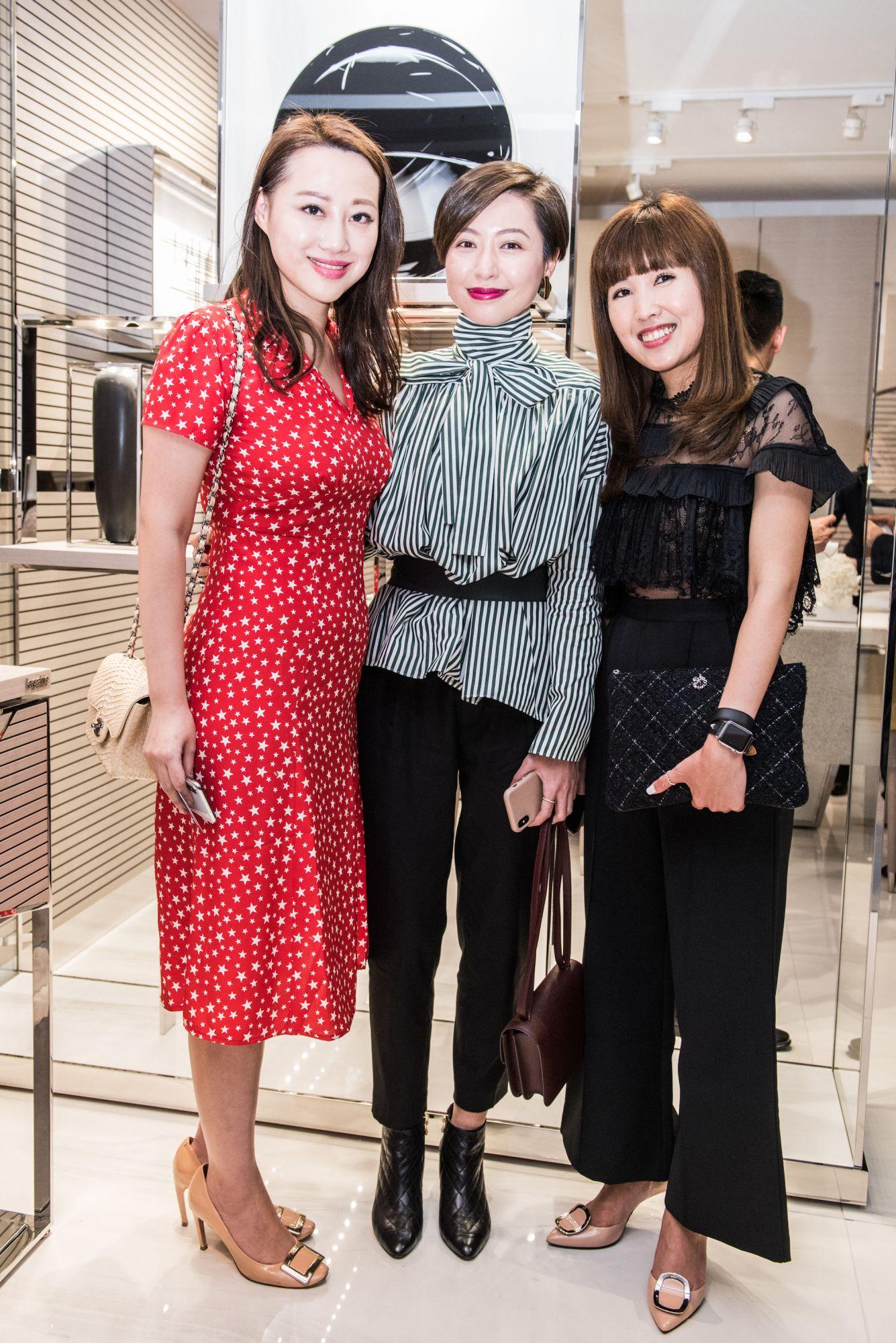 Josephine Chiu, Leslie Tsang, Emmy Yuen