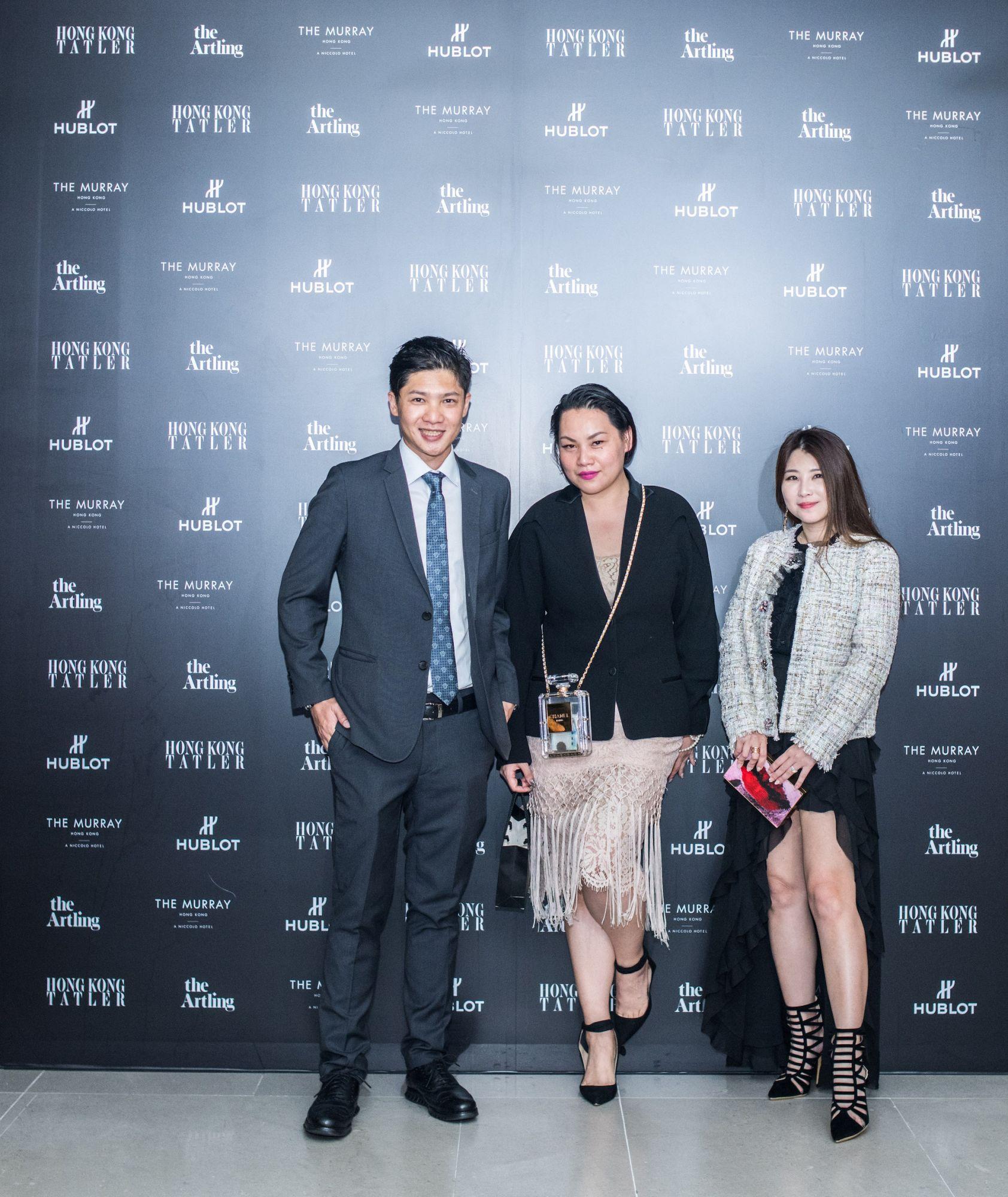 David Tsai, Skir Lin, Maggie Shaing