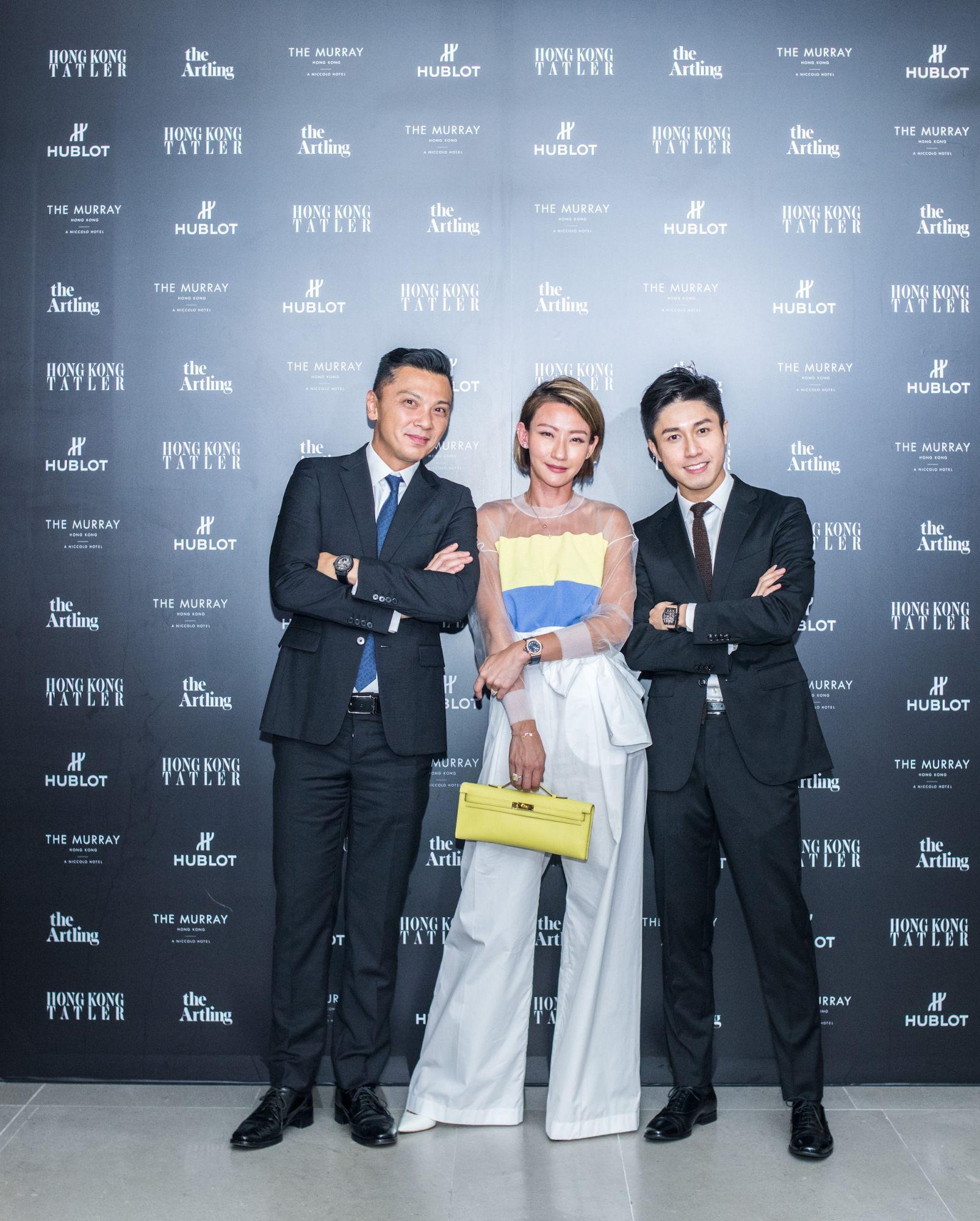 Sunny Tan, Esther Sham, Edwin Pun