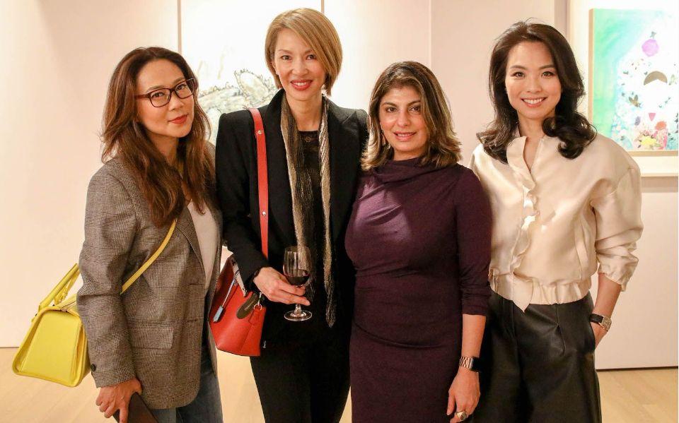 Sharie Ross-Tse, Yolanda Choy-Tang, Reyna Harilela, Anne Wang-Liu