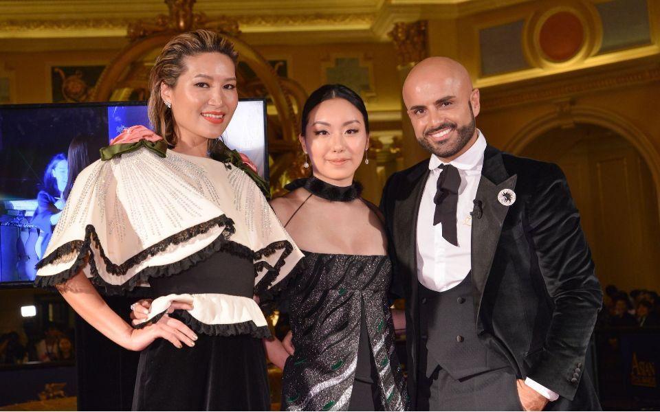 Helen Ma, Ruth Chao, Enrique Cherubini