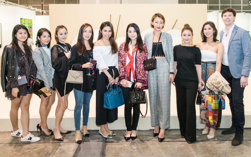 Renee Chung, Karen Chou, Jasmine Chung, Christine Fok, Elizabeth Li, Vincy Yeung, Esther Sham, Pearl Shek, Amanda Cheung, David McCord