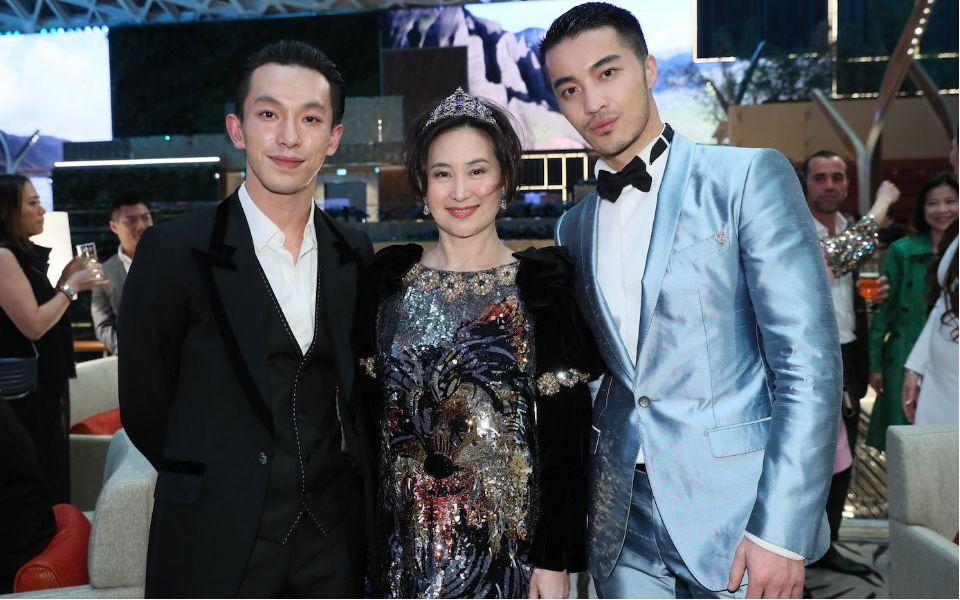 Harris Chan, Pansy Ho, Edison Fan