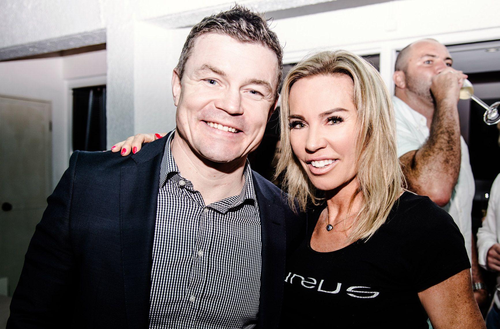 Brian O'Driscoll and Annabelle Bond