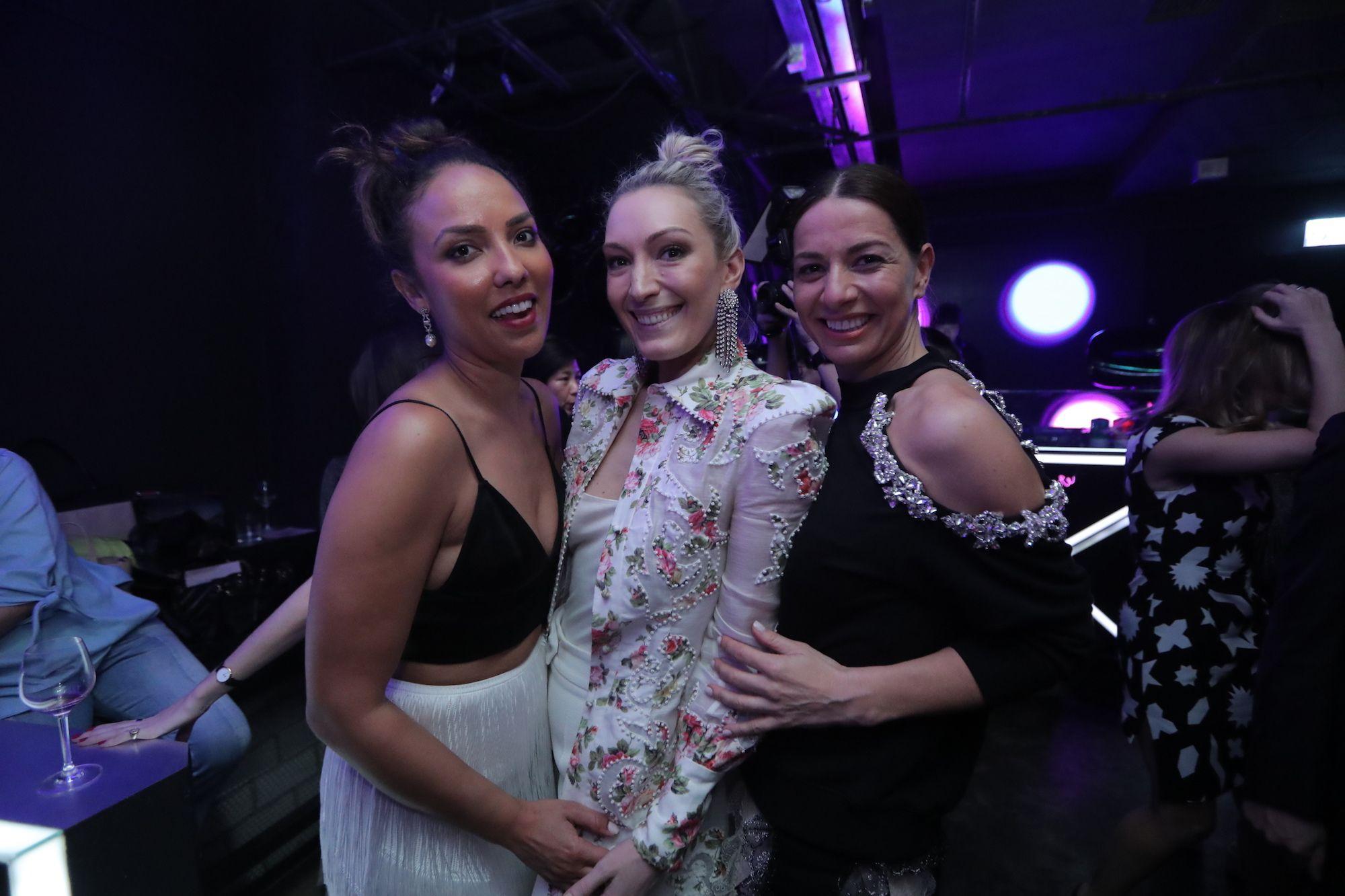 Princess Alia Al-Senussi, Olivia Croucher Buckingham, Yana Peel