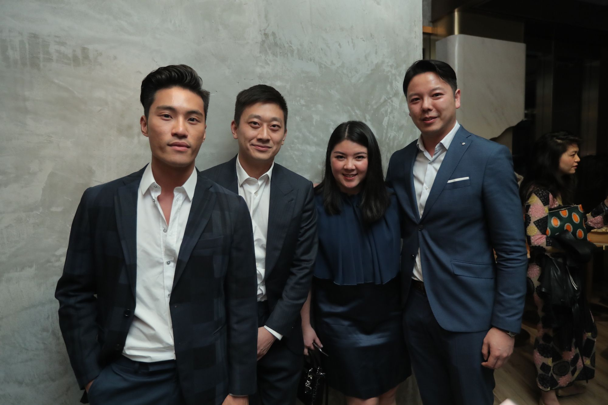 Loui Lim, Mu Chen, Amy Lee, James Ung