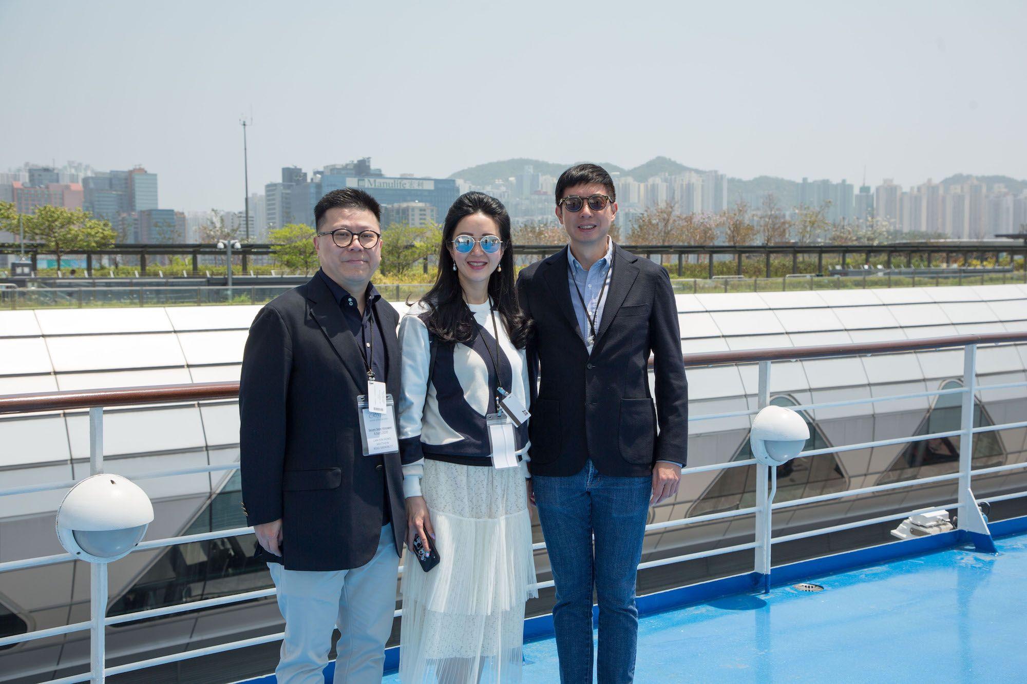 Matthew Lam, Lianne Lam, Philip Ma