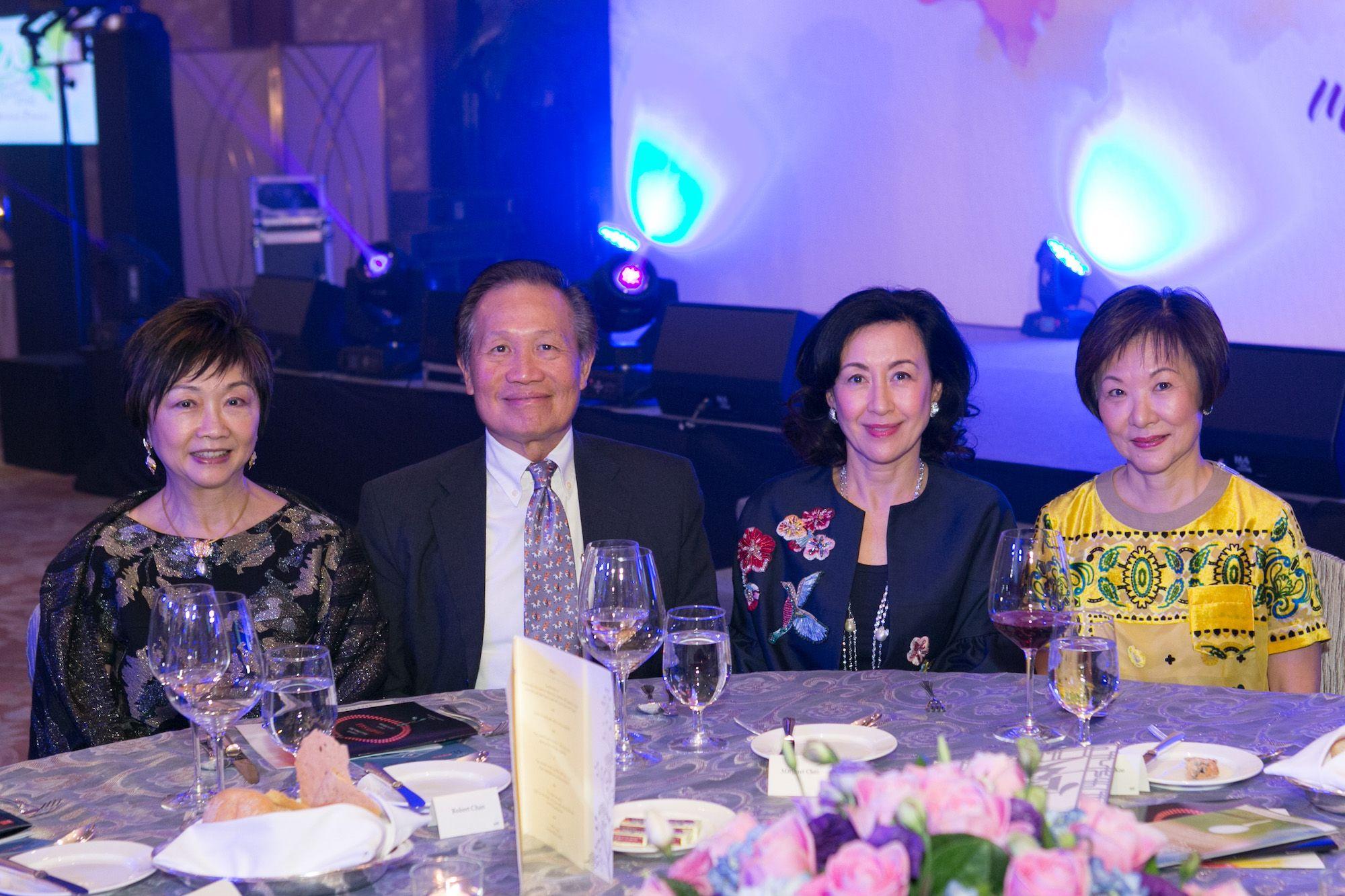 Camay Wong, Robert Chan, Margaret Chan, Helena Koo