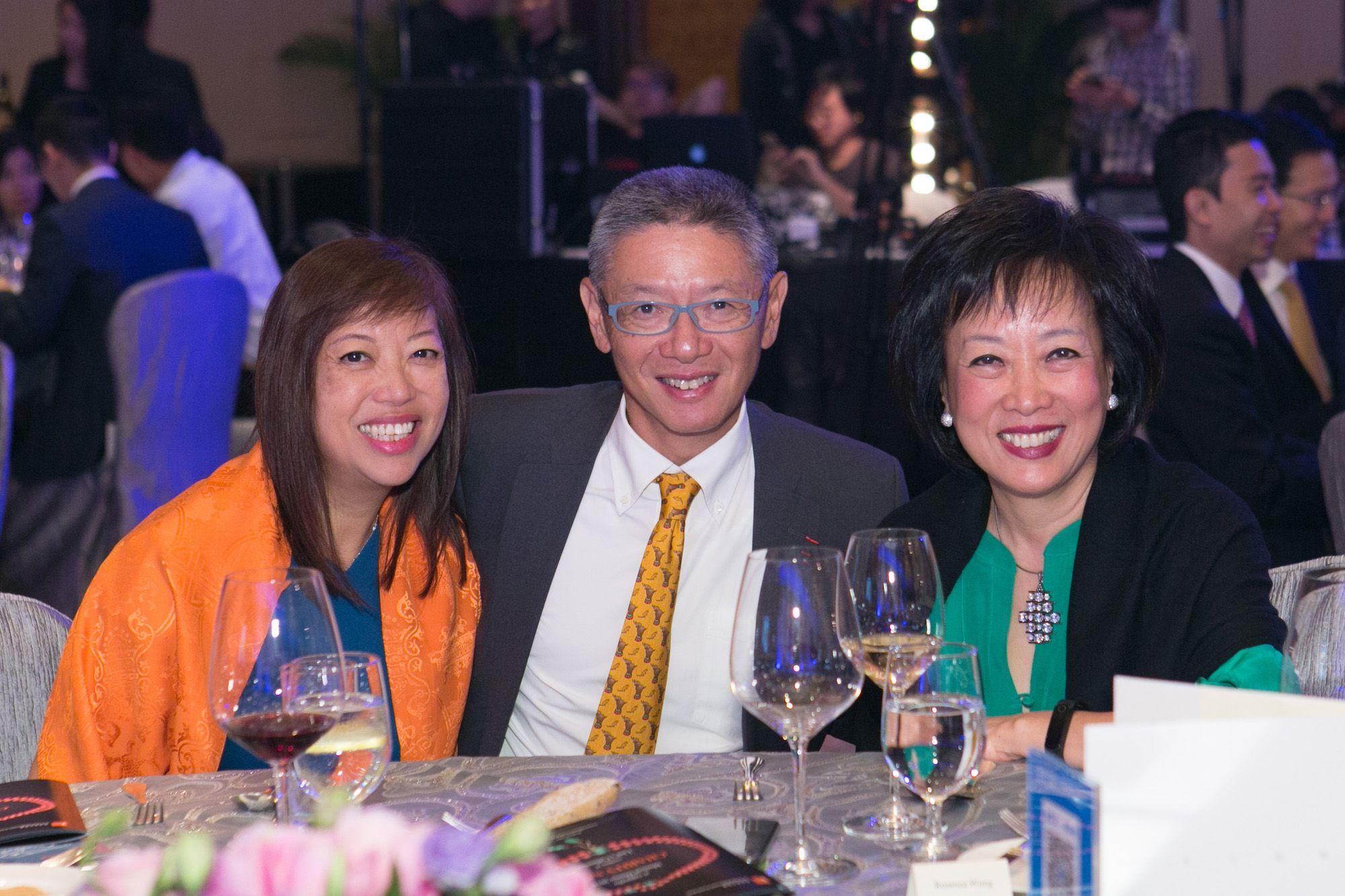 Serena Kwok, Clement Kwok, Rosanna Wong