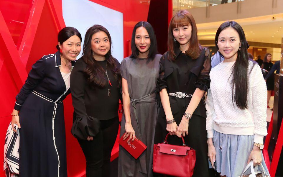 Catherine Ku, Vena Cheng, Jaime Ku, Helena Pong, Jacqueline Chow