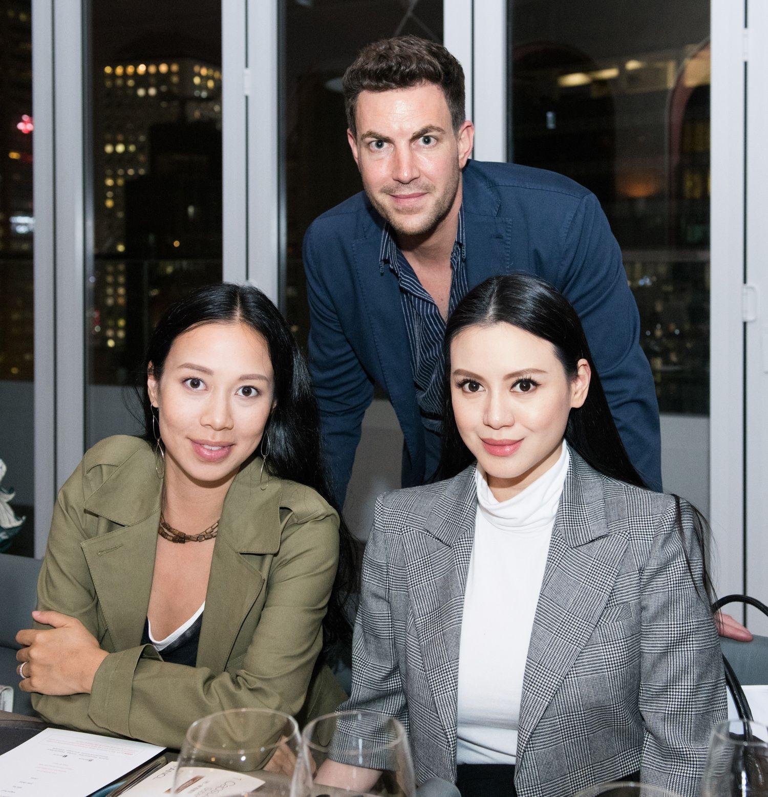 Claudine Ying, Michel Lamunière, Emily Lam-Ho