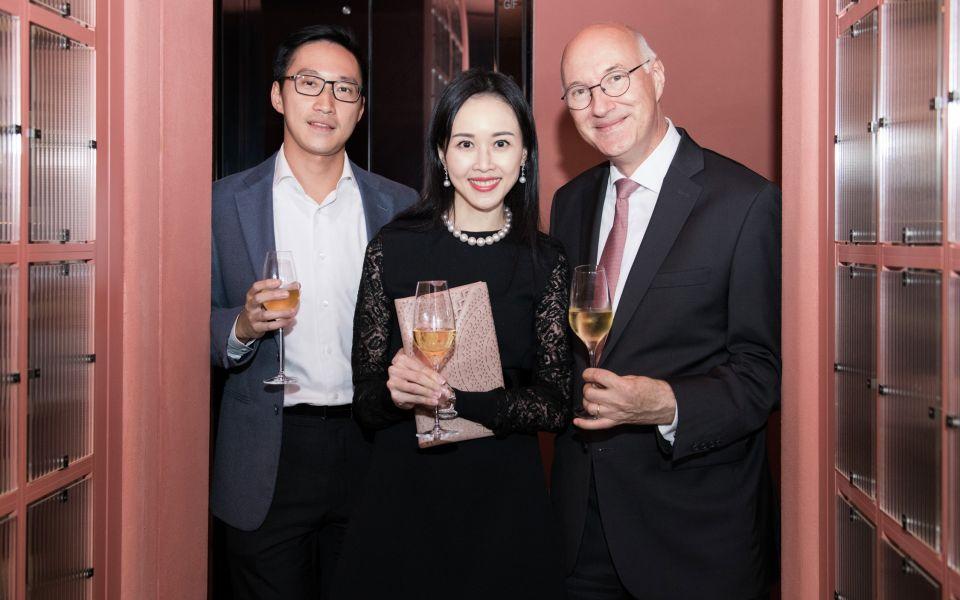 Evan Chow, Jacqueline Chow, Eric Berti