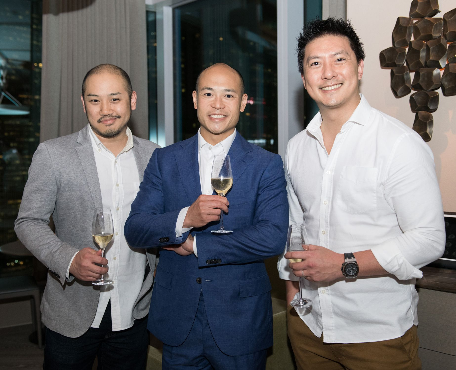 Joel Yu, Justin Hui, Michael Tung