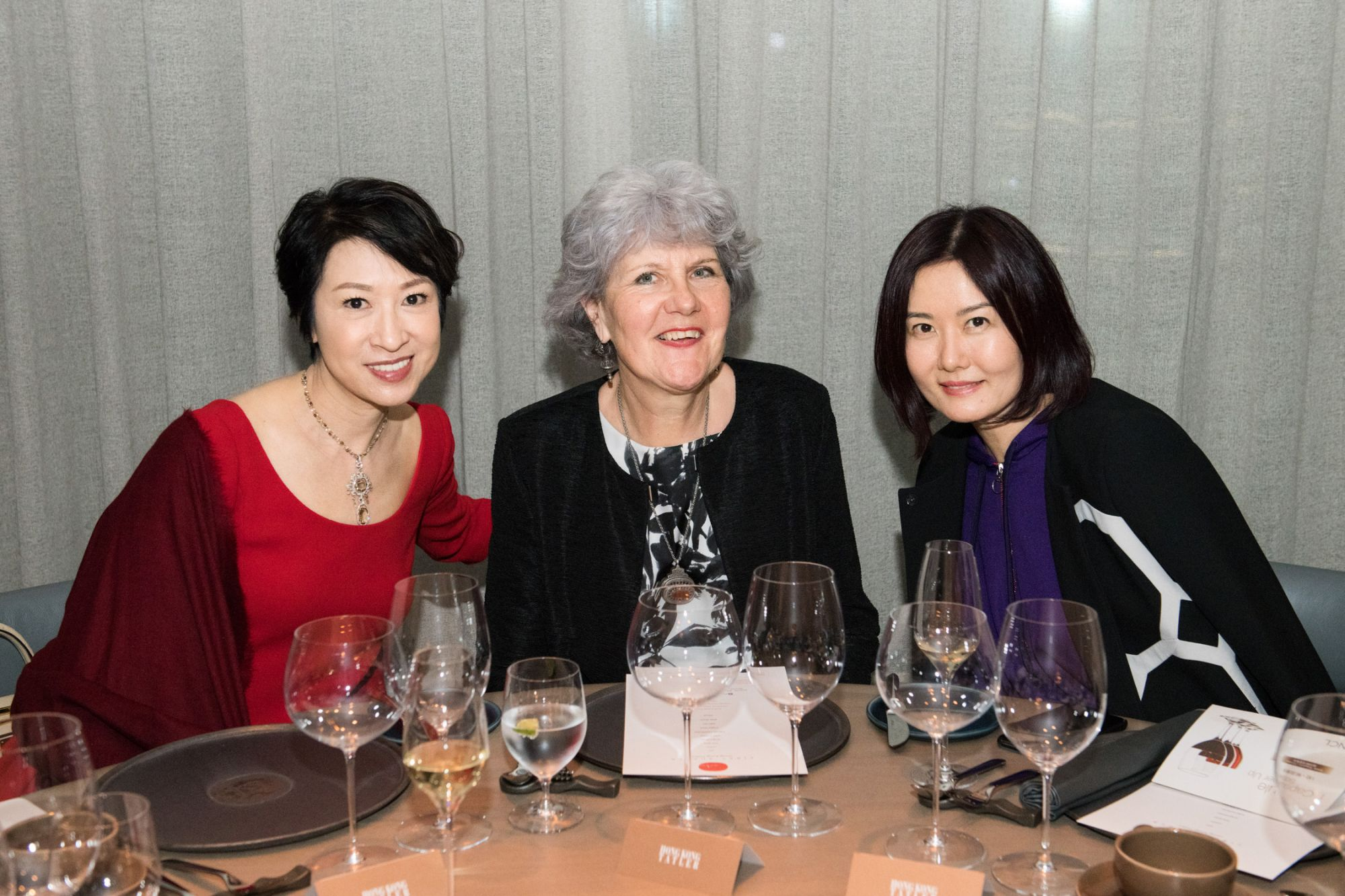 Michelle Ma, Madeleine Berti, Wendy Tong