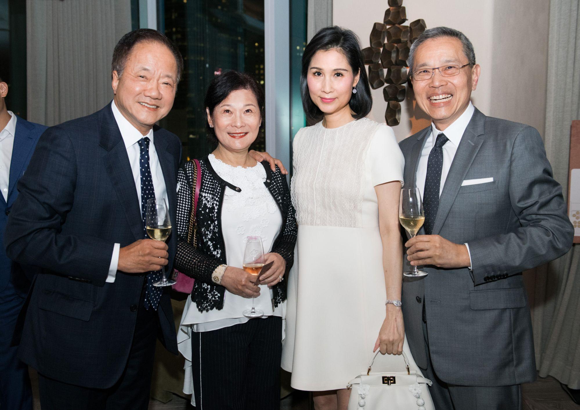 Moses Tsang, Angela Tsang, Louisa Cheng, Edward Cheng