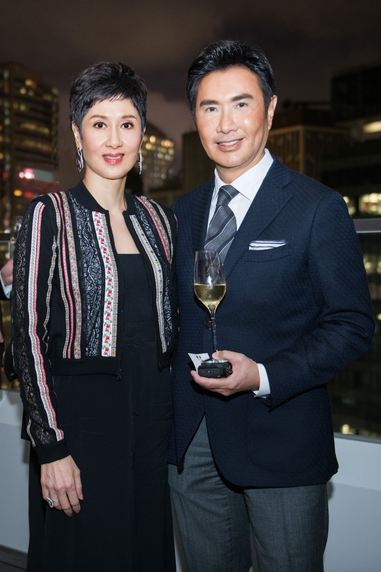 Michelle Ong, William Louey