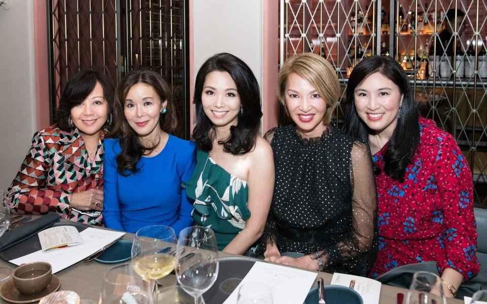 Wendy Kwok, Jacqueline Leung, Anne Wang-Liu, Yolanda Choy-Tang, Leigh Tung-Chou
