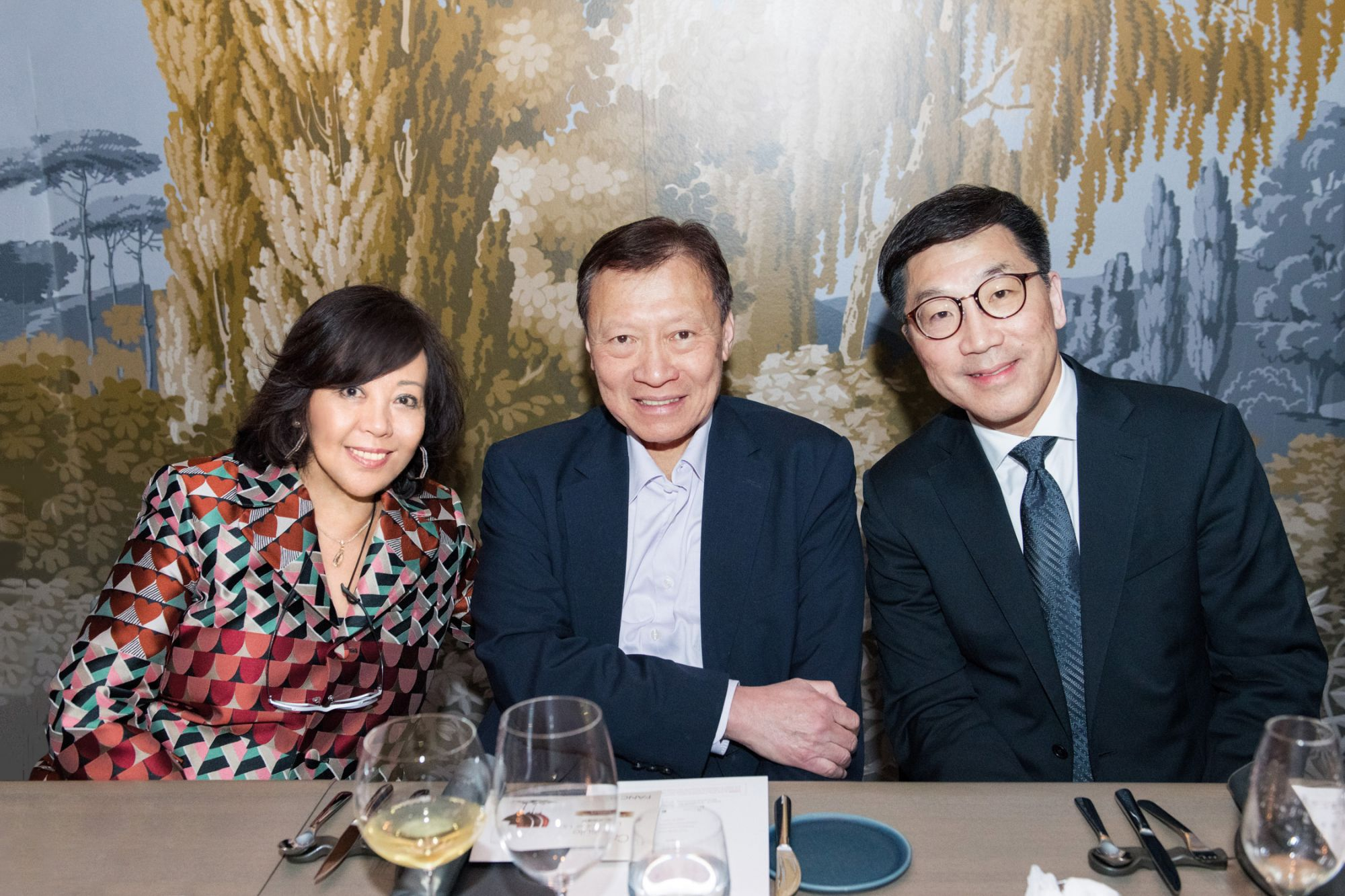Wendy Kwok, Walter Kwok, Christopher Chan